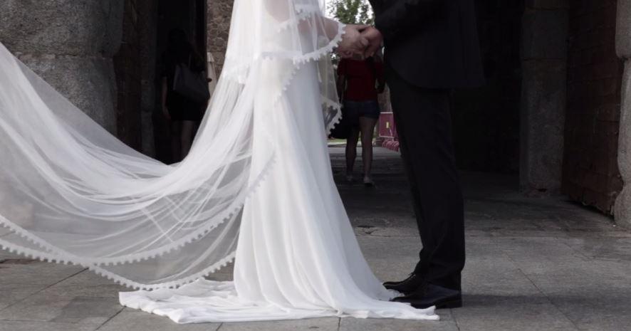"alt=""vídeo de boda en toledo"""