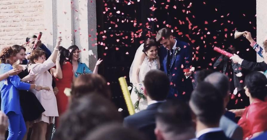 """alt=""""vídeo de boda mágico y diferente en toledo"""""""