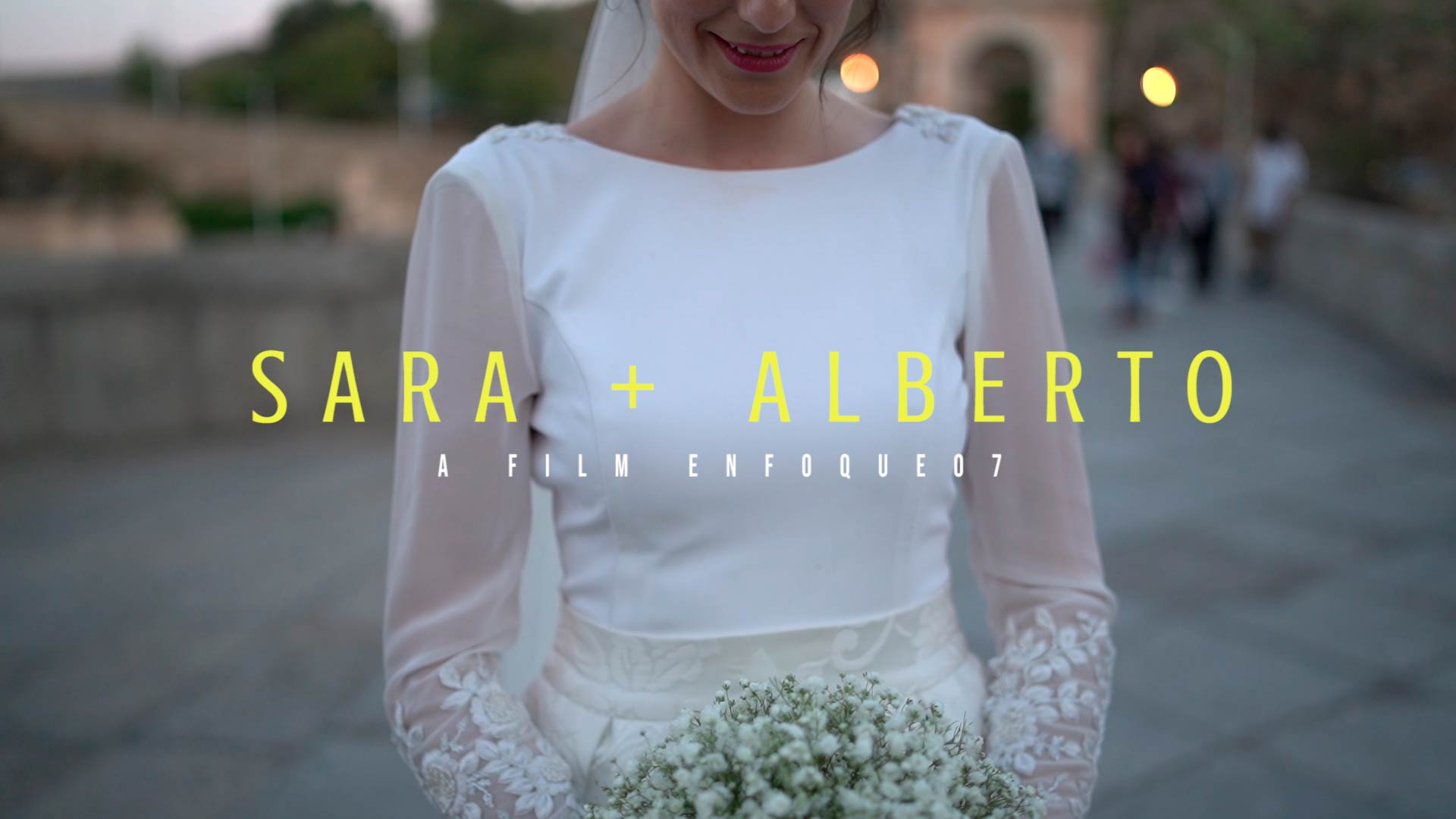 Video boda Toledo Sara y Alberto