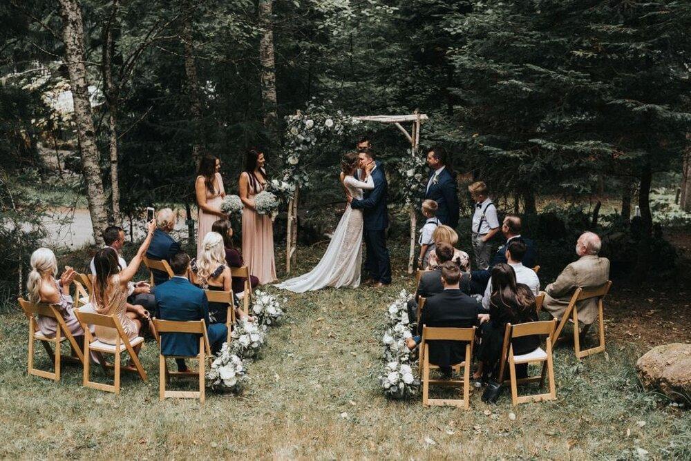 boda con pocas personas